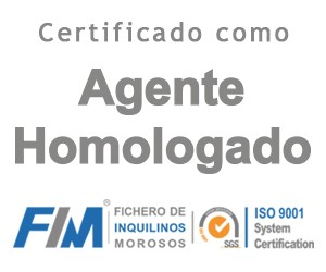 Certified as homologated agent. Homologated agent of the file of tenants in arrears.